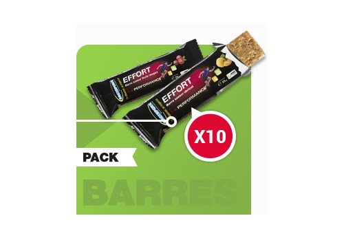 Ergysport Pack 10 Barres