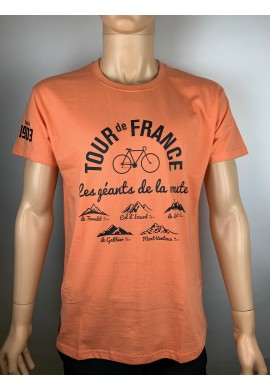 Le Tour de France T-shirt orange