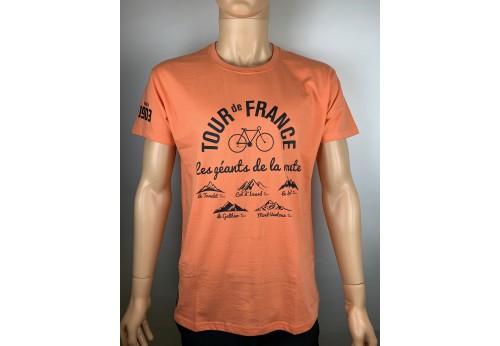 Le Tour de France T-shirt orange