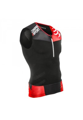 Maillot Compressport tank top TR3