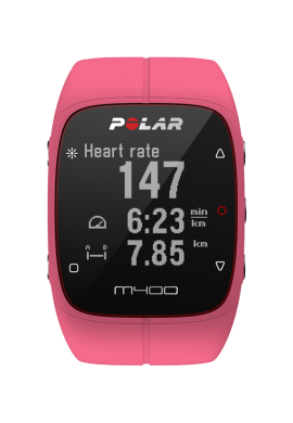 POLAR M400 ROSE HR